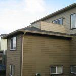 Deck built over living area, considered poor design